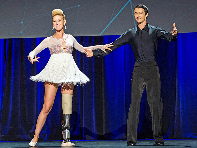 Dancer and Boston bombing survivor's prosthetic leg was LOST by American Airlines