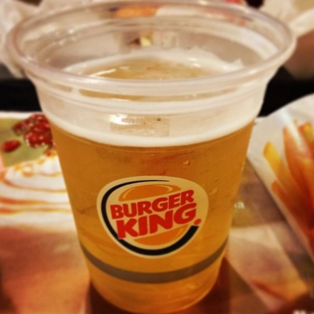 Burger King beer
