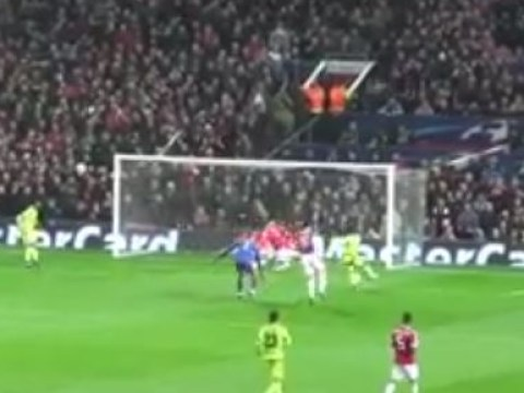 Watch David De Gea's and Chris Smalling's incredible saves for Manchester United v CSKA Moscow