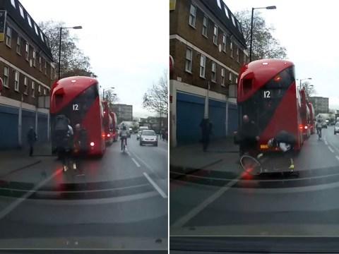 Video shows cyclist crash into pedestrian… but whose fault was it?