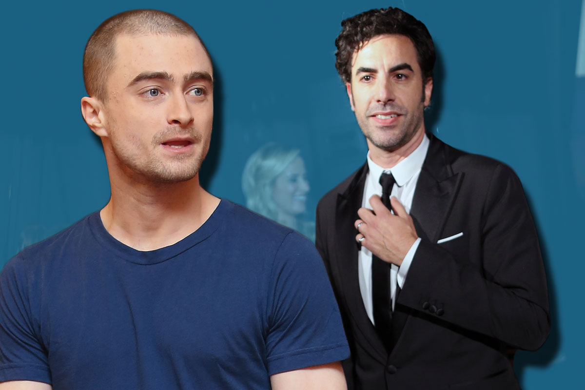 Daniel Radcliffe is reportedly the target of an 'outrageous' HIV joke in Sacha Baron Cohen's new film The Brothers Grimsby