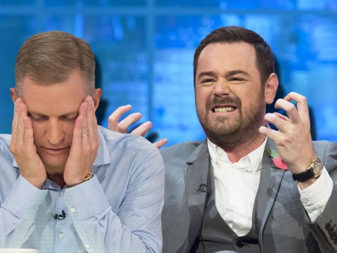 Danny Dyer lets Jeremy Kyle have it with both barrels – and even jokes about choking him