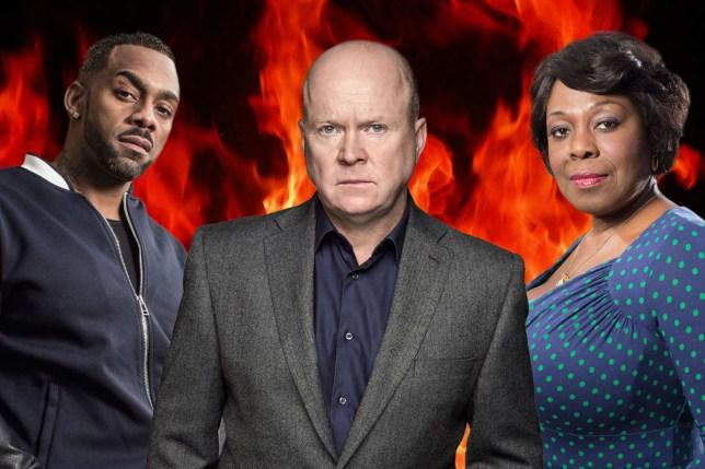 Did Phil Mitchell murder Vincent's dad? BBC