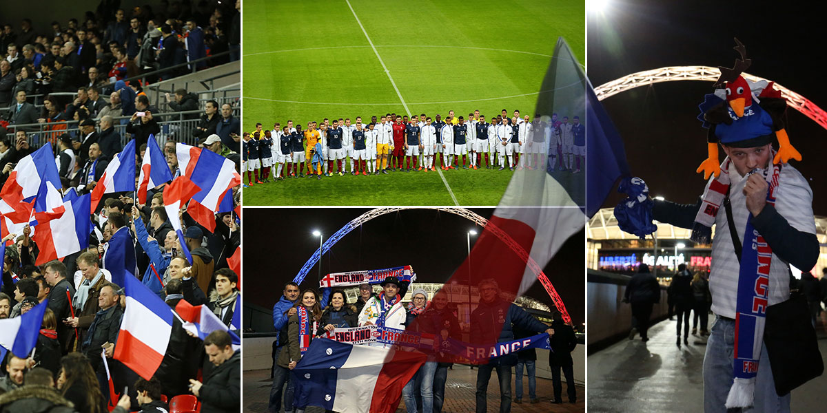 The tear-jerking moment Wembley came together as one to sing La Marseillaise in honour of Paris victims