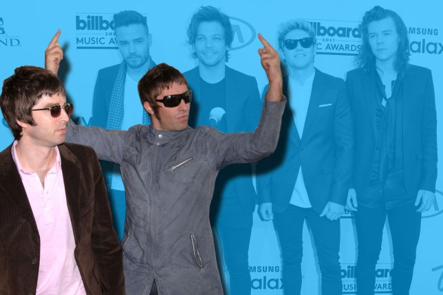 Noel Gallagher just can't stop bitching about One Direction