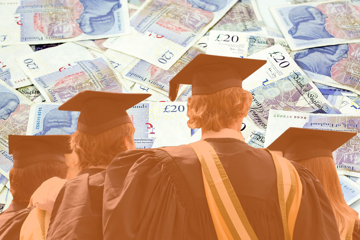 University students in England now pay world's highest fees Getty