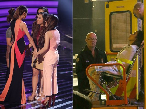 The X Factor 2015: 4th Impact reassure fans Celina's 'OK' after she collapses on the show