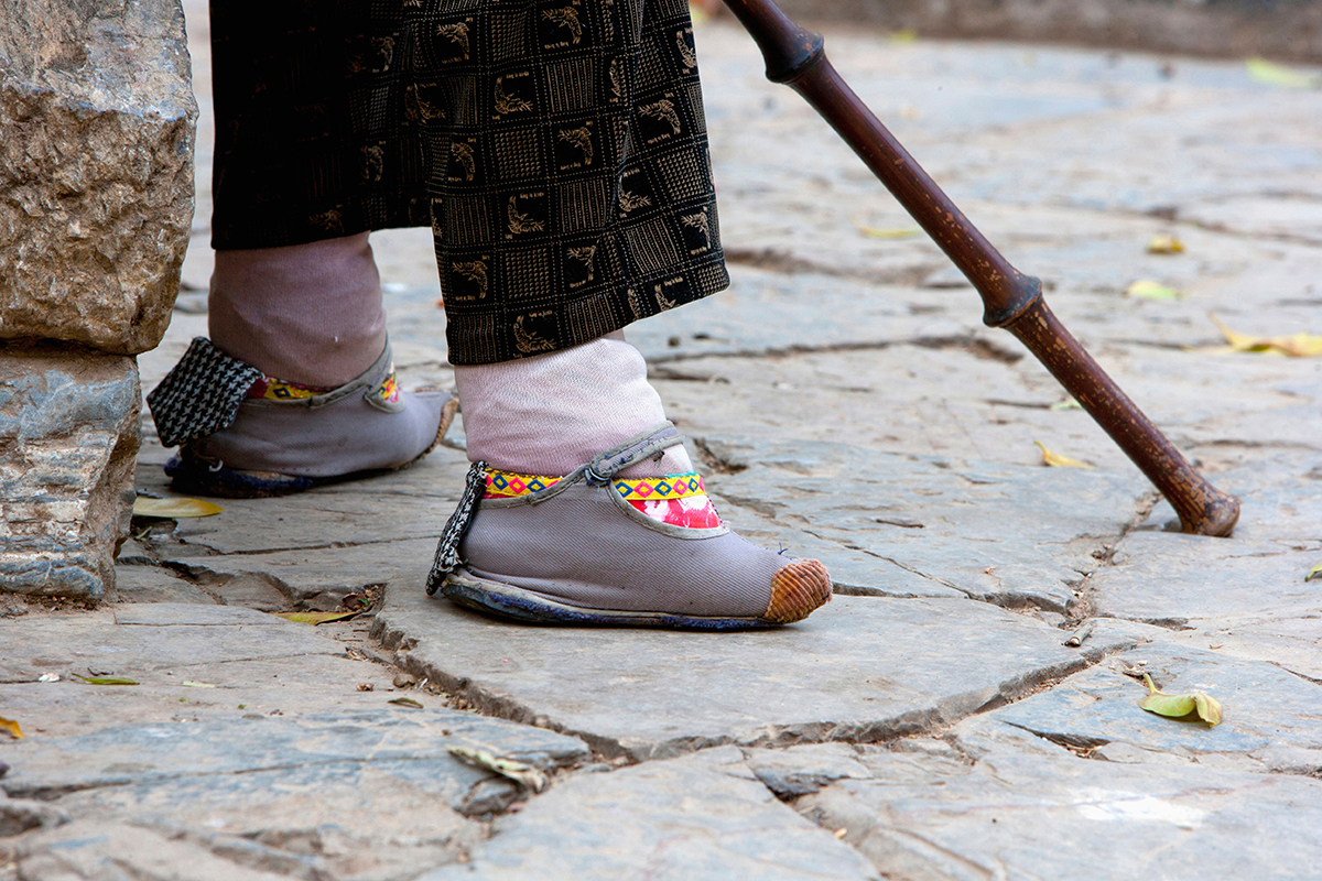 Chinese foot binding wasn't just about sexual oppression, it was the 'sexy walk'