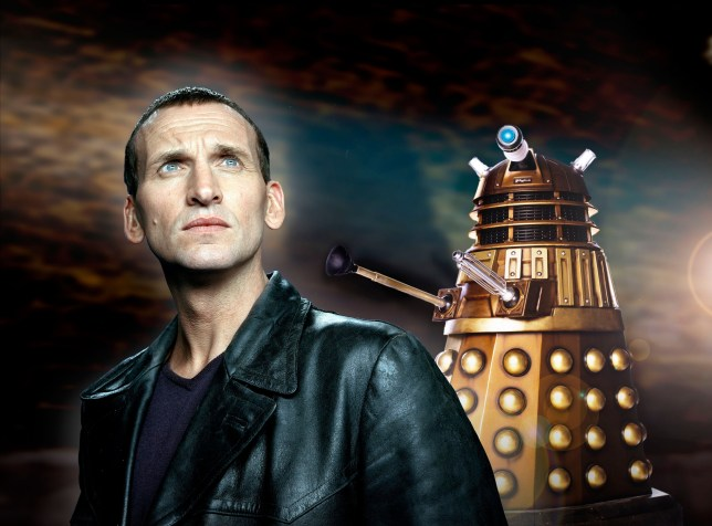 Picture Shows: Christopher Eccleston as The Doctor