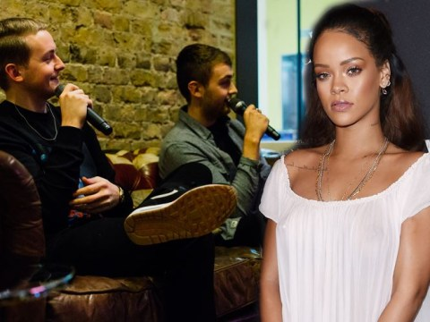 Disclosure won't work with Rihanna because 'she doesn't write her own songs'