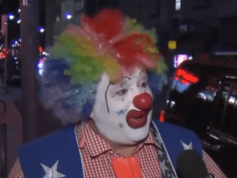 A clown named Doo Doo rescued two women from being assaulted