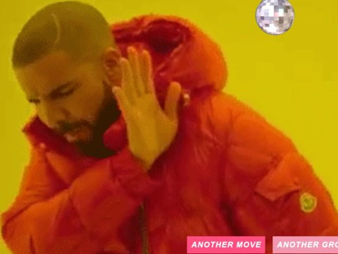 This amazing website lets you combine Drake's naff Hotline Bling dance moves with disco