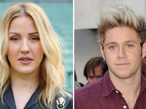 Ellie Goulding is planning to get in the studio with her ex Niall Horan