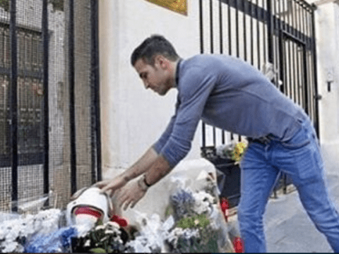 Cesc Fabregas shows touch of class by leaving Spain v England match ball at French embassy following Paris attacks