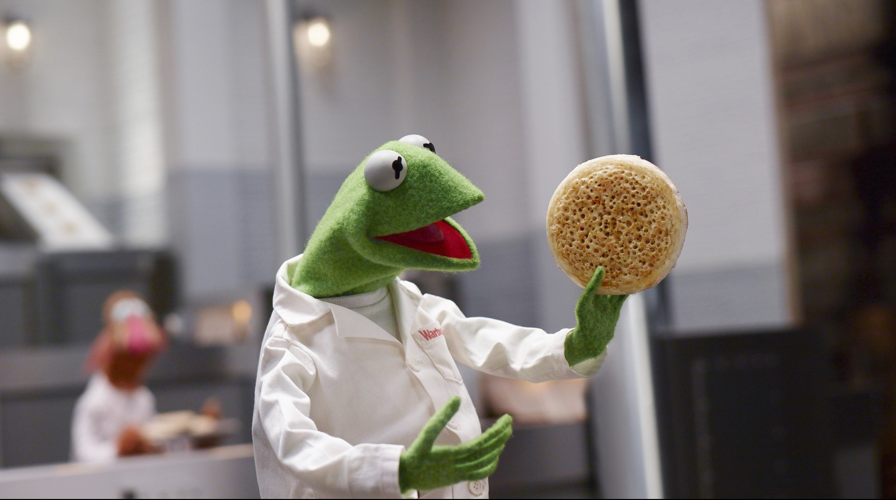 Forget the John Lewis ad – the all-singing, all-dancing Muppets have brought Warburtons Giant Crumpets into our lives