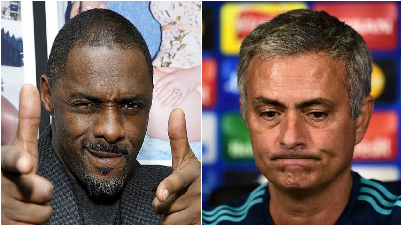 Idris Elba becomes Arsenal hero by mocking Chelsea boss Jose Mourinho and saying Gunners are London's best