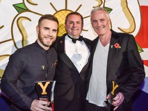 Ay up! Take That's Gary Barlow has been made an honorary Yorkshireman