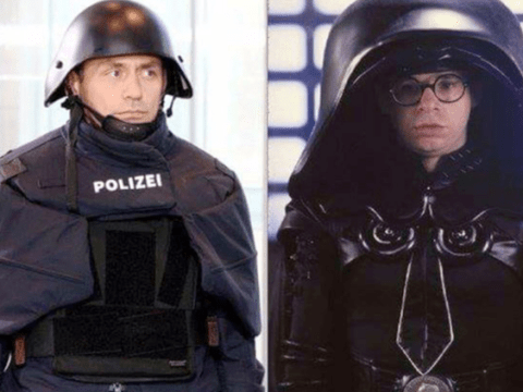 New German police outfits look like something from Star Wars