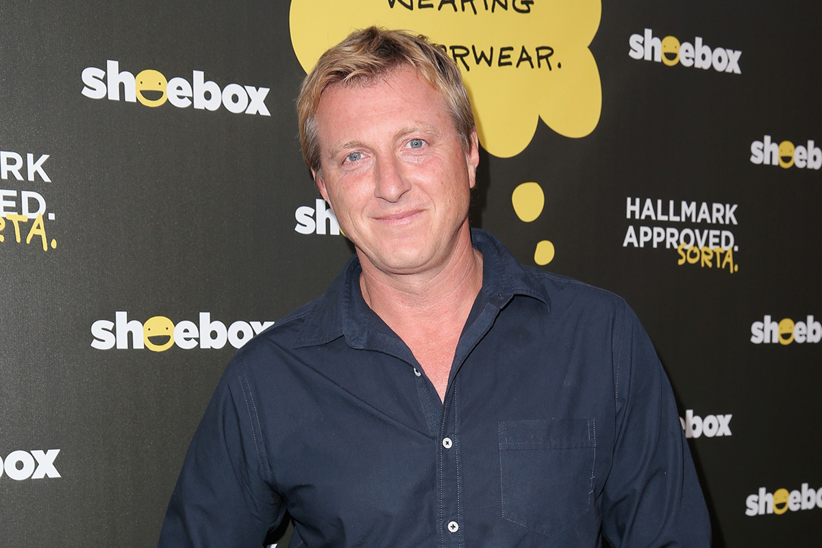 HOLLYWOOD, CA - JUNE 10: Actor William Zabka attends Shoebox's 29th Birthday Celebration hosted by Rob Riggle at The Improv on June 10, 2015 in Hollywood, California. (Photo by Imeh Akpanudosen/Getty Images for Hallmark Shoebox)