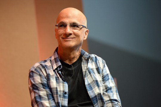 Apple Music's Jimmy Iovine speaks onstage during at the Vanity Fair New Establishment Summit (Picture: Getty Images)