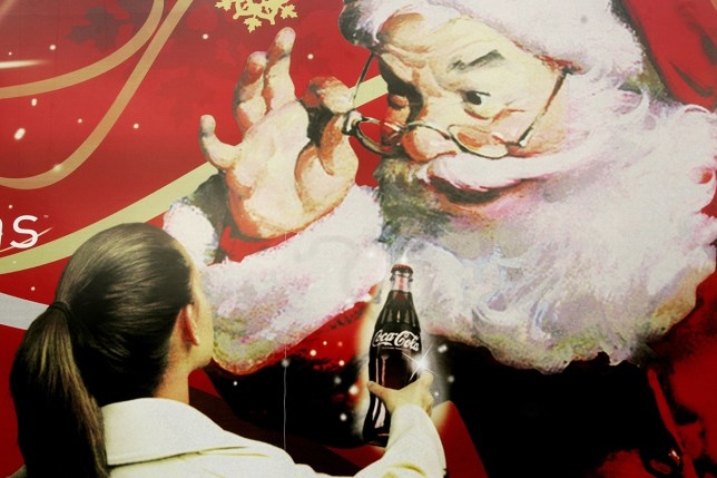 a christmas coca cola advert