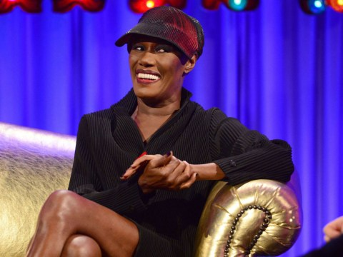 Alan Carr's Chatty Man totally cut Grace Jones admitting to a threesome with Janice Dickinson