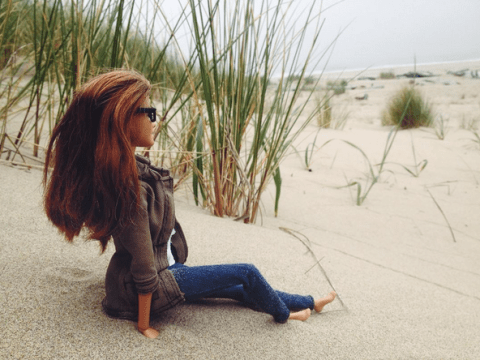 Hipster Barbie has revealed her true identity and quit Instagram