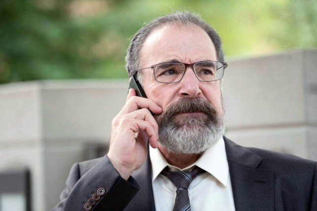 Mandy Patinkin as Saul Berenson (Picture: Stephan Rabold/Showtime)