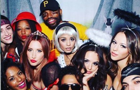 Vanessa Hudgens reunited with her High School Musical co-stars at Halloween