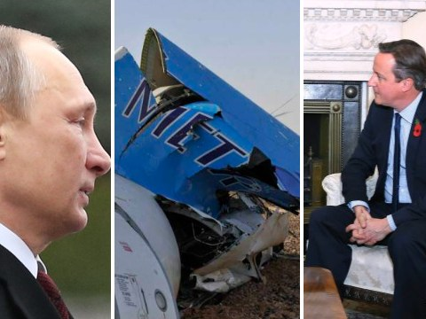 Russian plane crash: Vladimir Putin's angry with David Cameron's claim that a bomb caused the disaster