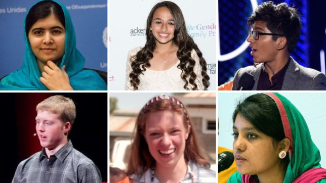 inspiring teenagers who are changing the world