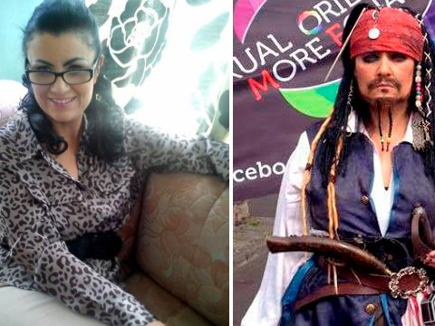 Mum of 4 has spent thousands to look like Jack Sparrow after watching Pirates Of The Caribbean