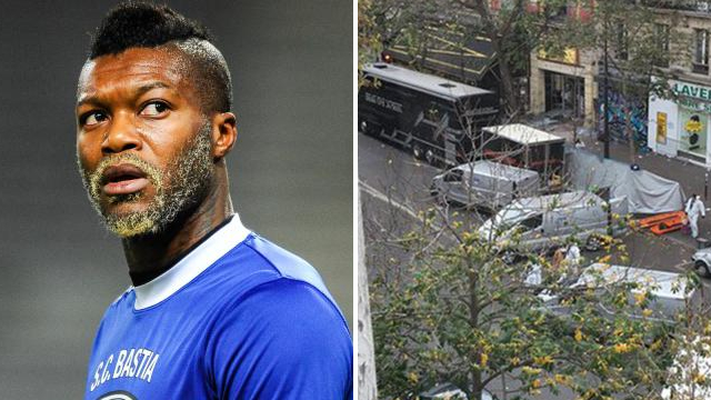 Picture posted by Djibril Cisse reveals how Paris attacks unfolded just yards from his home