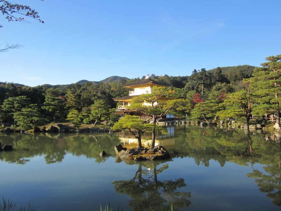 The Golden Pavilion is breathtaking (Picture: Ann Lee)