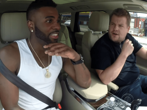 James Corden talks dirty with Jason Derulo and teaches him some moves in new Carpool Karaoke session