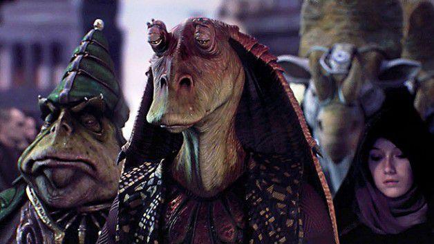 Good news Star Wars fans! Jar Jar Binks WON'T be in The Force Awakens
