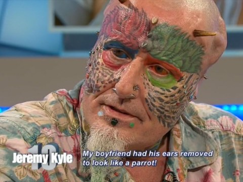 'Parrot Man' turned up on Jeremy Kyle Show and everyone was loving his positivity