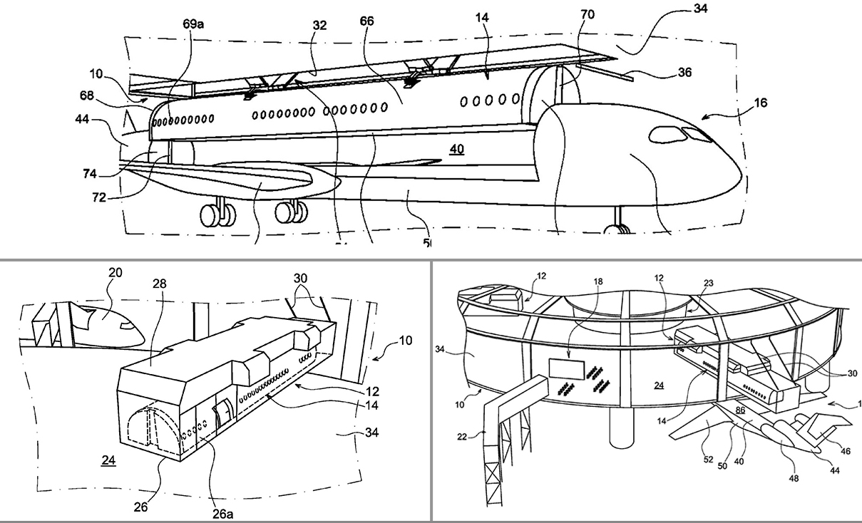 This new plane design could let you board without leaving the terminal