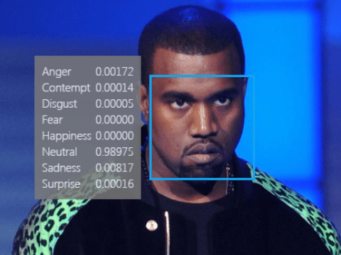 Microsoft's new tool will tell you what you're feeling in photos. We tested it with Kanye's face.