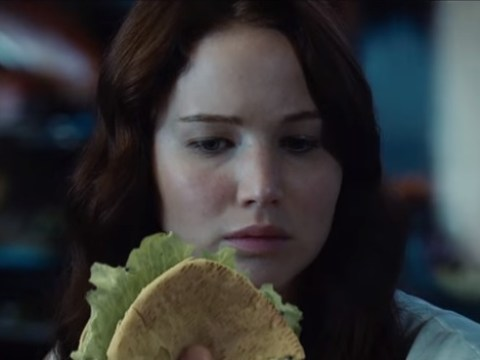 Hunger Games' Katniss really, really loves pitta