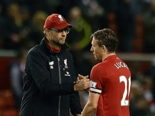 Lucas Leiva reveals that Jurgen Klopp has made him fall back in love with Liverpool