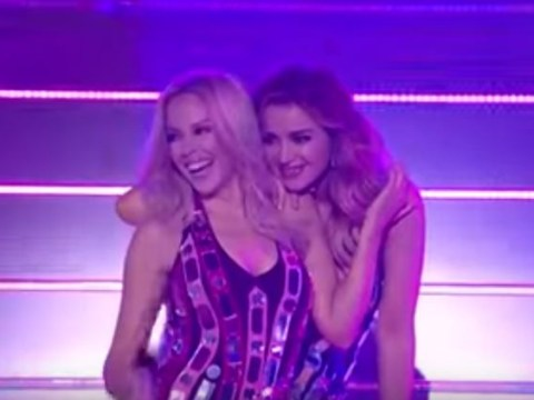 Kylie and Dannii Minogue perform on TV together for first time in 29 years on The X Factor Australia