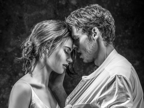 Lily James and Richard Madden embrace in first hot photo from Romeo & Juliet