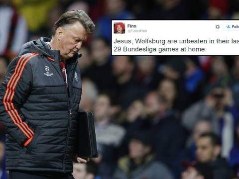 Stats shows Wolfsburg could easily end Manchester United's Champions League hopes