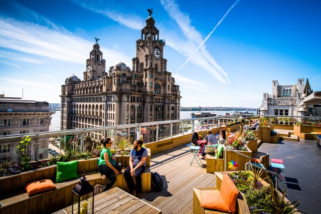 OhMeOhMy rooftop terrace (Picture: Ant Clausen)