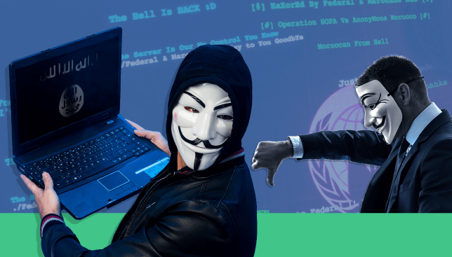 Anonymous posts 900 Isis-related Twitter accounts online and now they're suspended Source: Getty Images Credit: METRO/Myles Goode