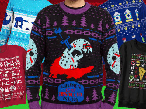Get your geek on with these awesome Christmas jumpers