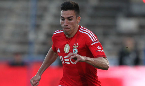 Arsenal in transfer battle to sign Manchester United target Nicolas Gaitan in January – report
