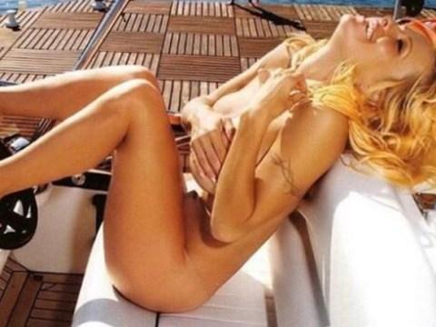 Pamela Anderson celebrates being cured of Hepatitis C in true Pammy style