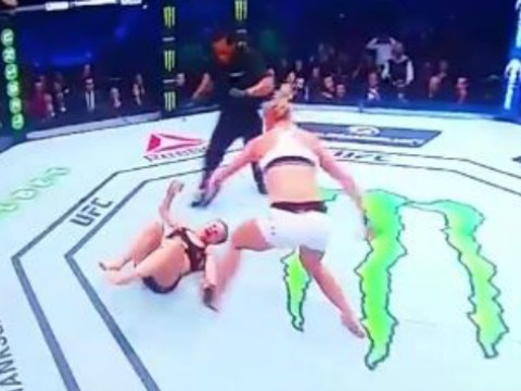 Holly Holm shocks the world with brutal head-kick KO of undefeated Ronda Rousey at UFC 193